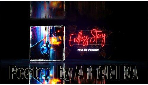 Endless Story Stylish Slideshow / Youtube Travel Blog/ Digital Slide/ Bright Presentation/ Art Promo 21586821