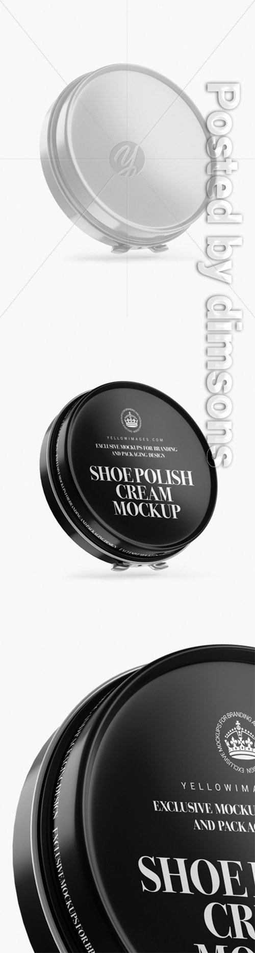 Glossy Shoe Polish Cream Jar Mockup 30502 TIF