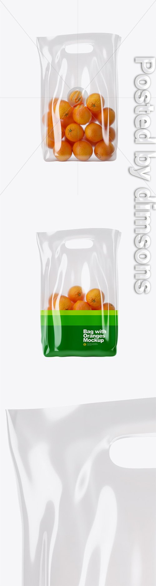 Glossy Bag with Oranges Mockup 30069 TIF