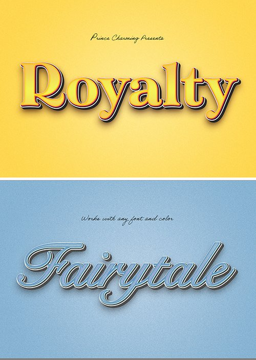 Royal Themed Text Effect 307703070 PSDT