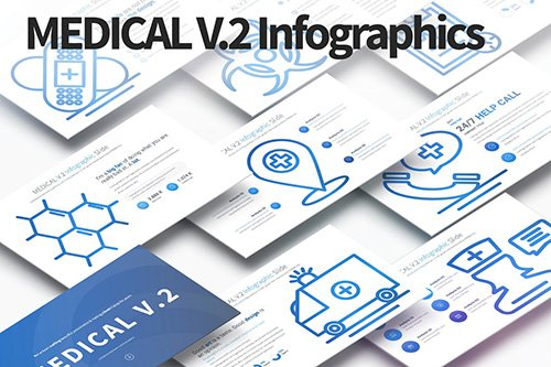 MEDICAL V.2 - PowerPoint Infographics Slides