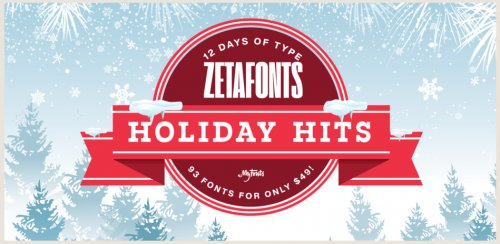 Zetafonts Holiday Hits