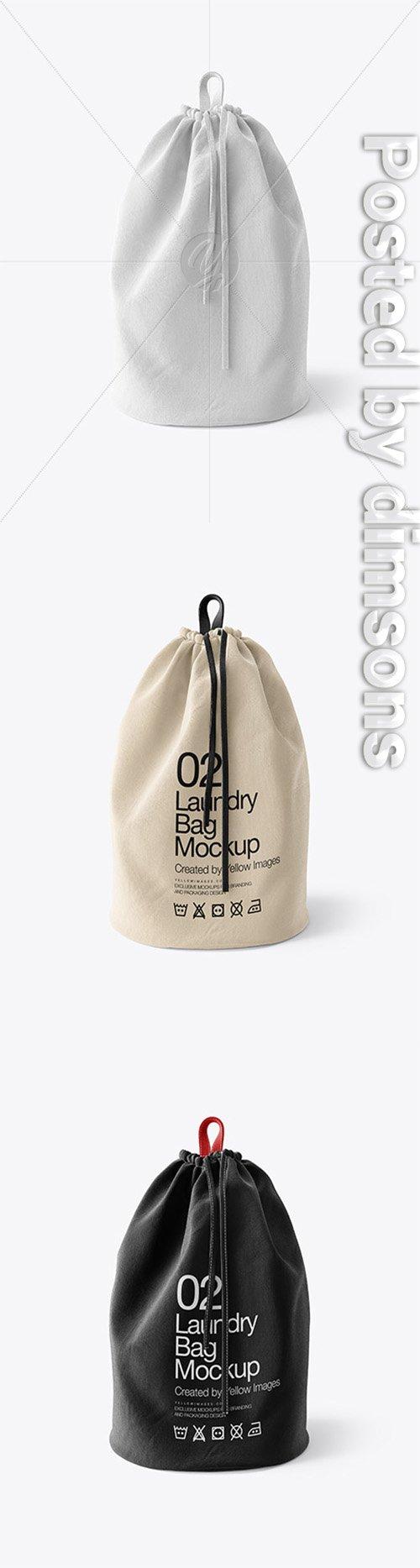 Laundry Bag Mockup 35595 TIF