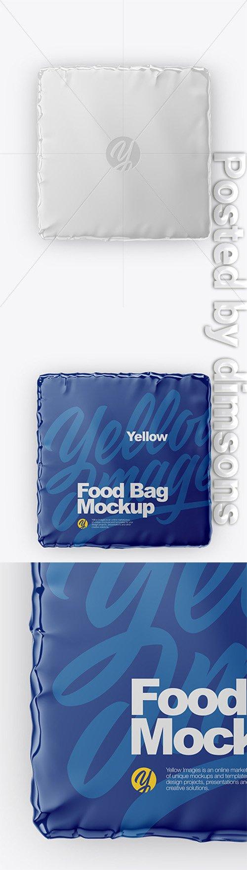 Glossy Food Bag Mockup 47149 TIF