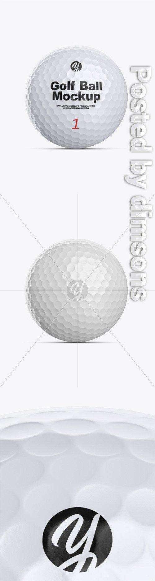 Golf Ball Mockup 48329 TIF
