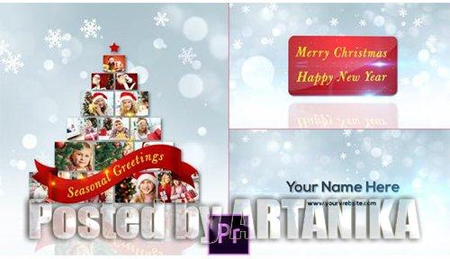 Christmas Greetings - Premiere Pro 25164556