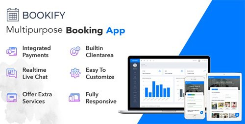 CodeCanyon - Bookify v1.4 - Multipurpose Booking App - 21814923 - NULLED