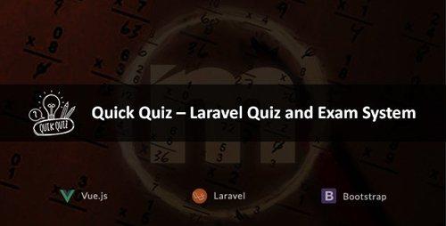 CodeCanyon - Quick Quiz v2.2 - Laravel Quiz and Exam System - 21117633