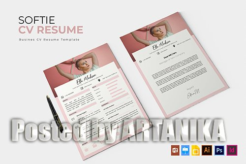 Softie | CV & Resume Template
