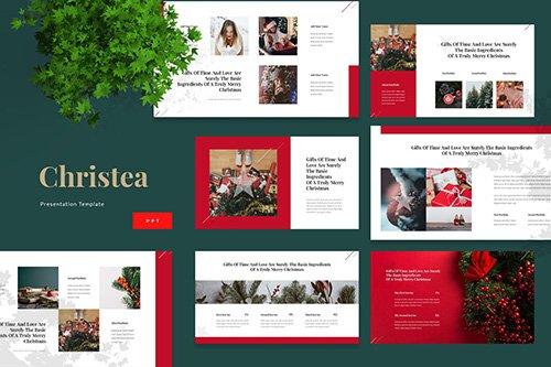 Christea - Christmas Powerpoint Presentation