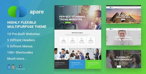 ThemeForest - Apare v1.0 - Responsive Multipurpose HTML5 Template (Update: 12 December 19) - 20583505