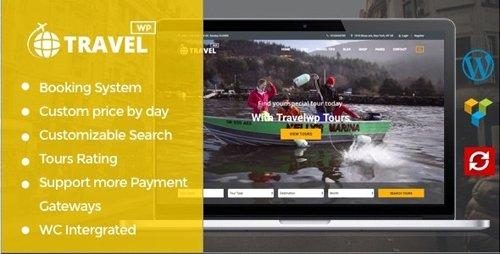 ThemeForest - Tour & Travel WordPress Theme - TravelWP v1.6.3 - 19029758