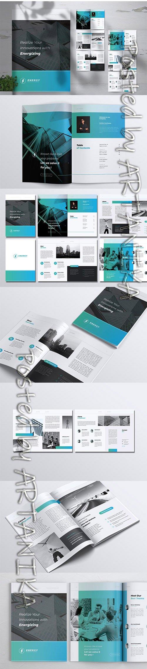 ENERGY Power Plant Company Profile Brochures