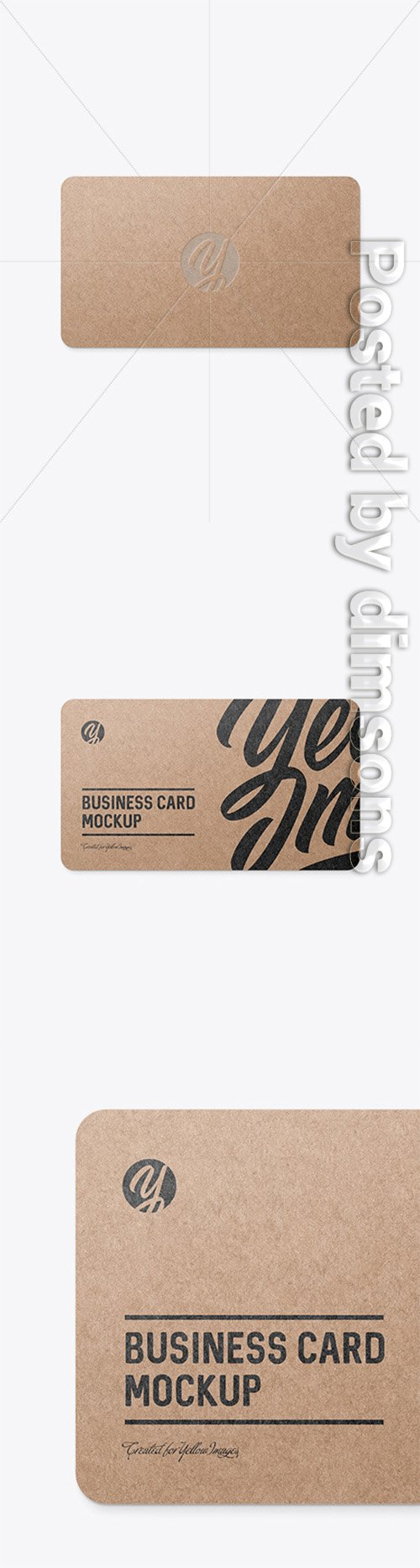 Kraft Business Card 50534 TIF
