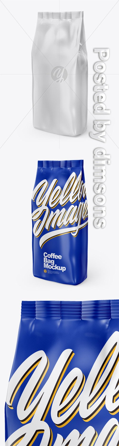 Glossy Bag Mockup 50551 TIF