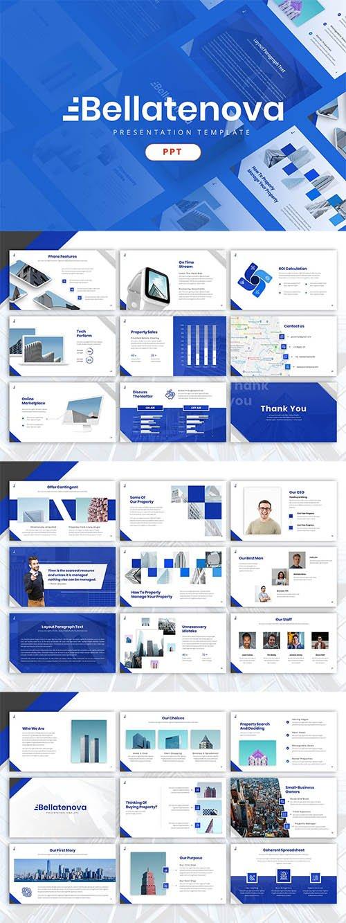 Bellatenova - Company Powerpoint Template