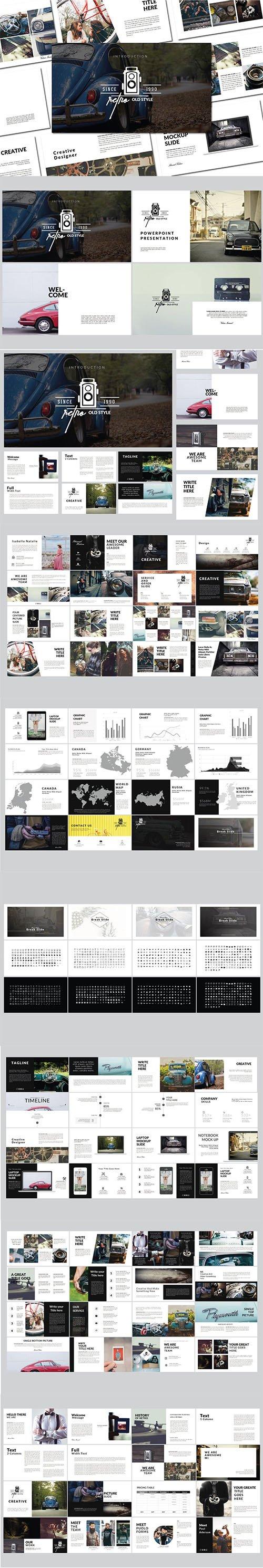Retro | Powerpoint Template