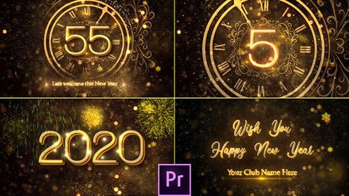 New Year Countdown 2020 - Premiere Pro 25267703