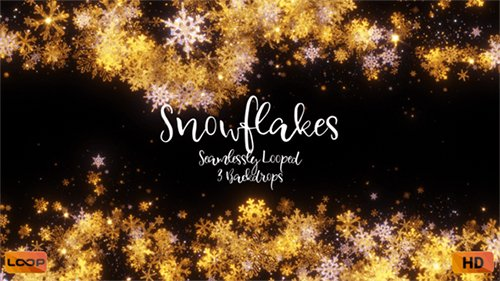 Snowflakes HD Pack 2 25270116