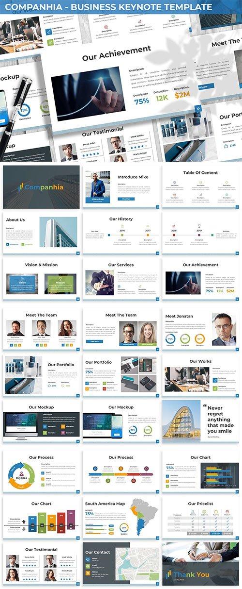 Companhia - Business Keynote Template