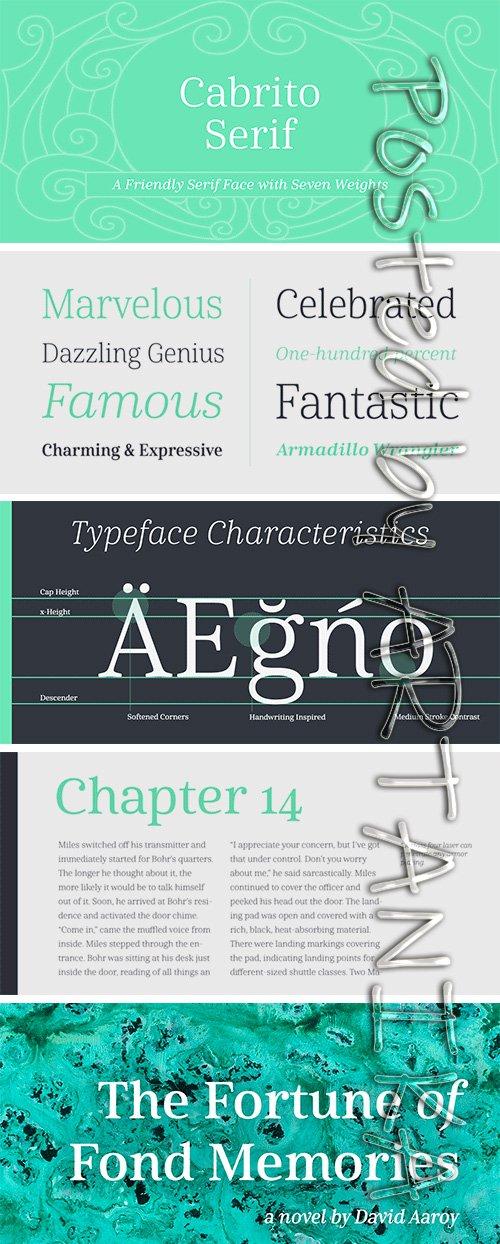 Cabrito Serif Font Family