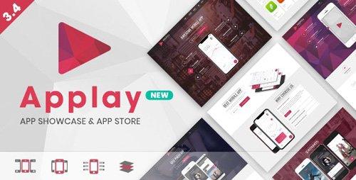 ThemeForest - Applay v3.4 - WordPress App Showcase & App Store Theme - 9381060