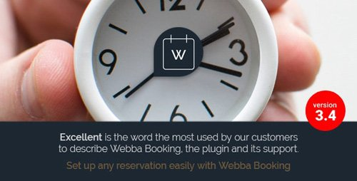 CodeCanyon - Webba Booking v3.4.85 - WordPress Appointment & Reservation plugin - 13843131