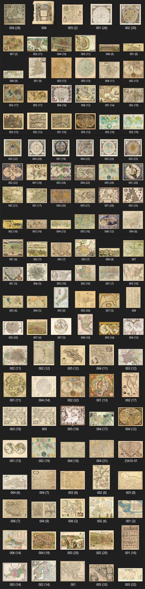200+ Digital Maps Huge Bundle