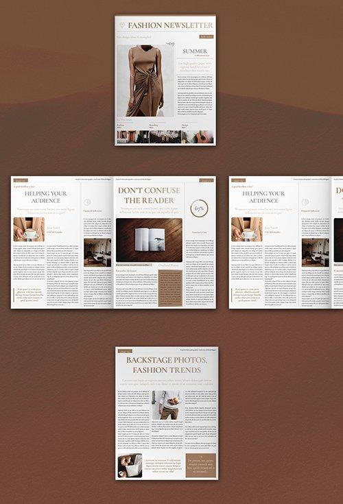 Fashion Newsletter Layout 308775146 INDT