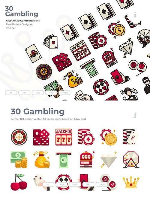30 Gambling Icons