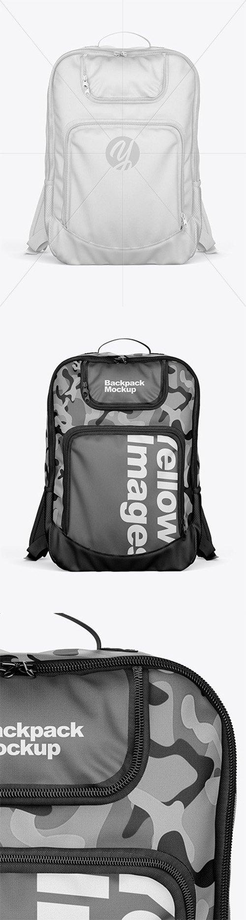 Backpack Mockup 52027 TIF