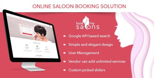 CodeCanyon - Online Salon Appointment Booking Solution - Book My Salon (Update: 2 July 19) - 17166507