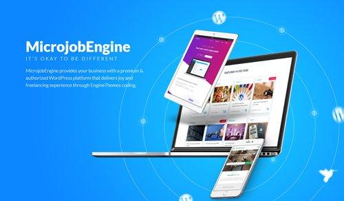 MicrojobEngine v1.3.7.5 - WordPress Theme - NULLED