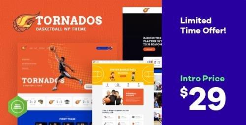 ThemeForest - Tornados v1.0.0 - Basketball NBA Team WordPress Theme - 25217435