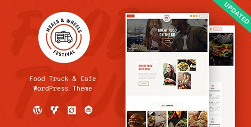 ThemeForest - Meals & Wheels v1.0.1 - Street Festival & Fast Food Delivery WordPress Theme - 22991263