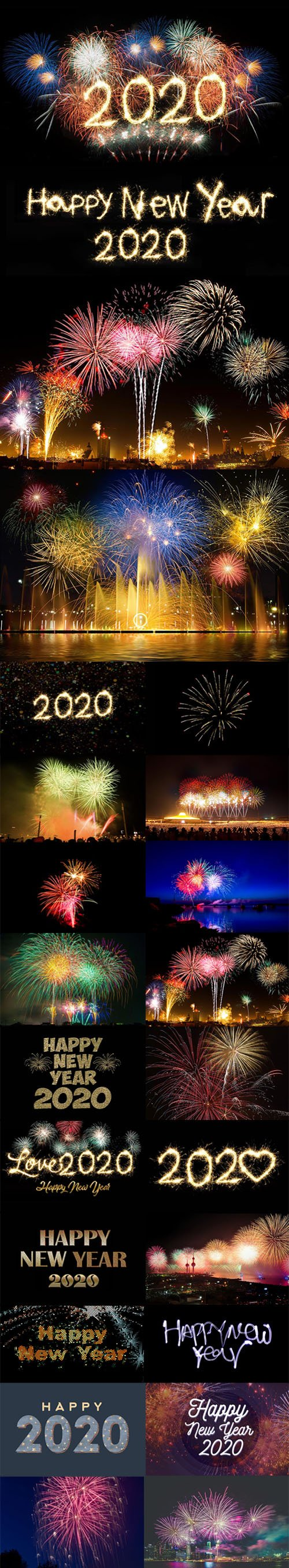 30 Happy New Year 2020 Stock Photos & Wallpapers HD
