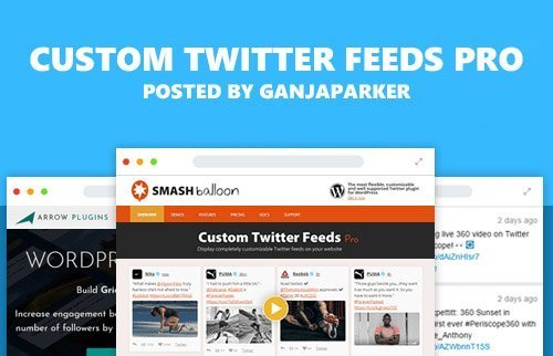Custom Twitter Feeds Pro v1.7.1 - WordPress Plugin - NULLED