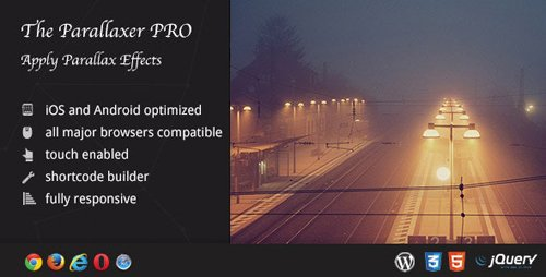 CodeCanyon - The Parallaxer WP v3.20 - Parallax Effects on Content - 9594931