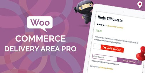 CodeCanyon - WooCommerce Delivery Area Pro v2.0.5 - 19476751