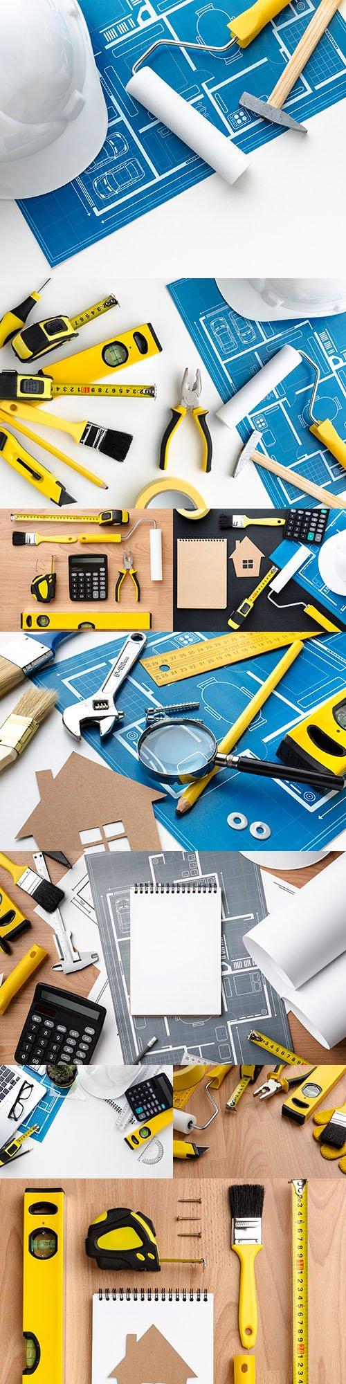 Building tools for repair design composition