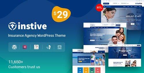 ThemeForest - Instive v1.0.3 - Insurance WordPress Theme - 24690633