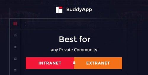ThemeForest - BuddyApp v1.7.8 - Mobile First Community WordPress theme - 12494864
