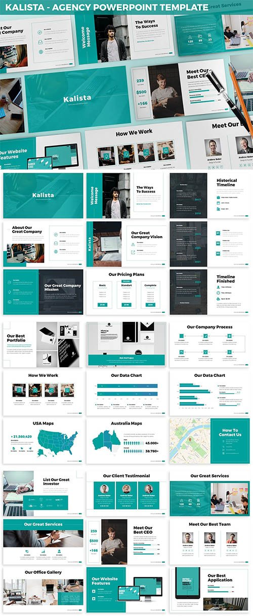 Kalista - Agency Powerpoint Template