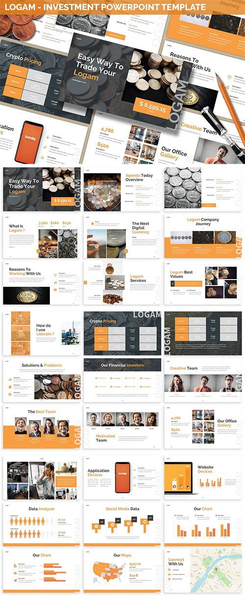 Logam - Investment Powerpoint Template