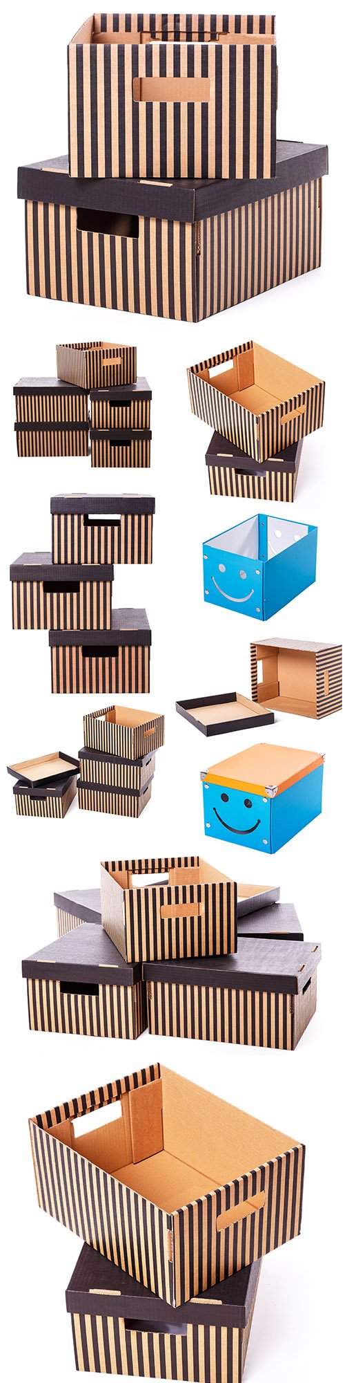 Boxes for storing and delivering items to office
