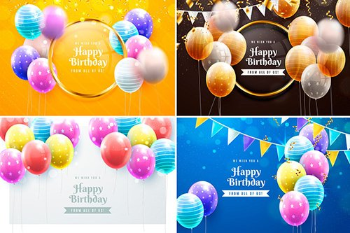 Colorful Birthday Backgrounds