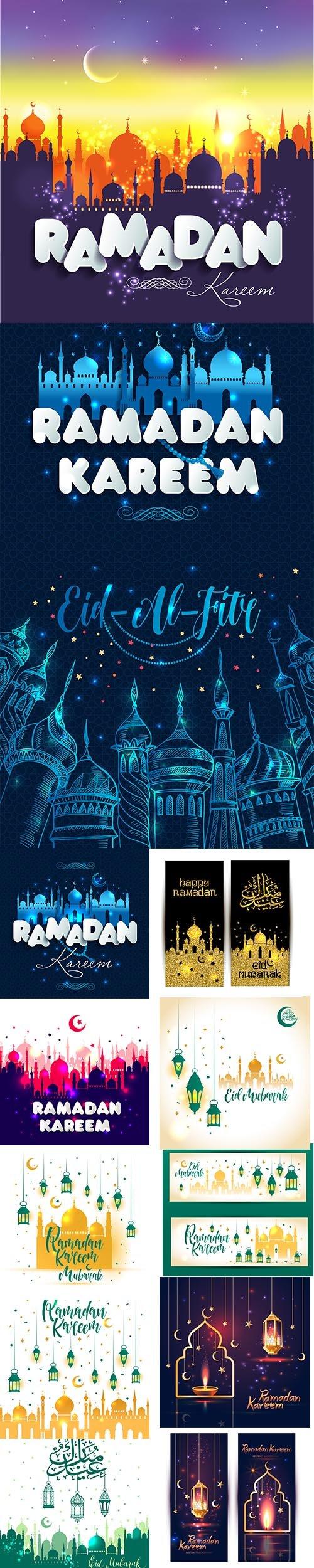 Ramadan Kareem Abstract Islamic Illustrations