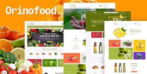 ThemeForest - Orinofood v1.0 - Organic Opencart Theme - 25394255