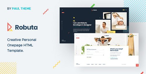 ThemeForest - Robuta v1.0 - Personal Onepage PSD Template - 25418791