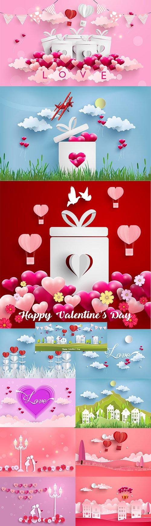 Happy Valentines Day Illustration Set Vol 3